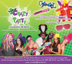 crazy party accesorios de fiesta